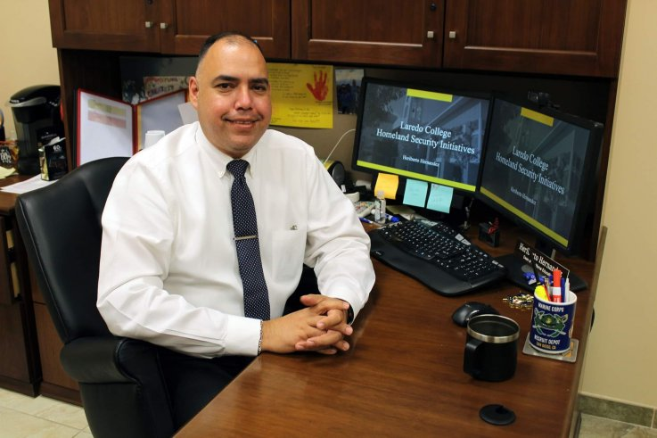 Laredo College's Dean of Workforce EducationHeriberto Hernandez