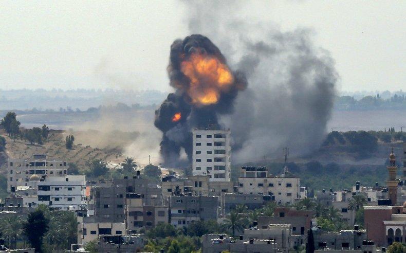 israel, strike, gaza, city, palestinian, hamas