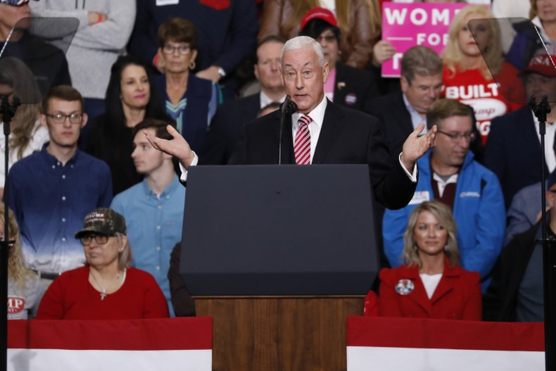 Greg Pence wasn't worried about VP brother