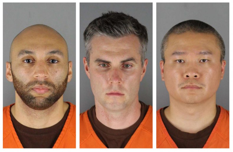 Ex-officers charged in Floyd death