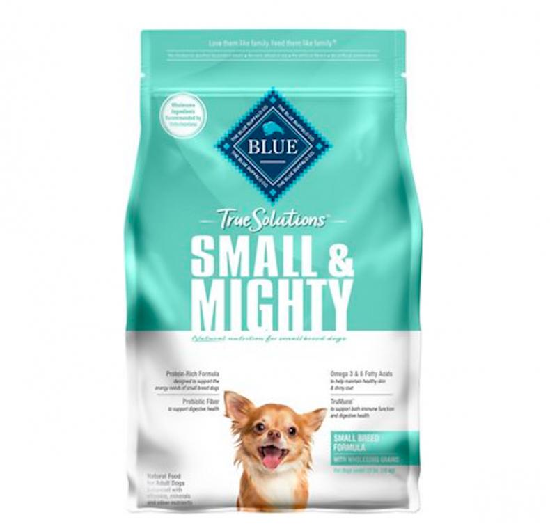 best dog foods small dog breeds blue