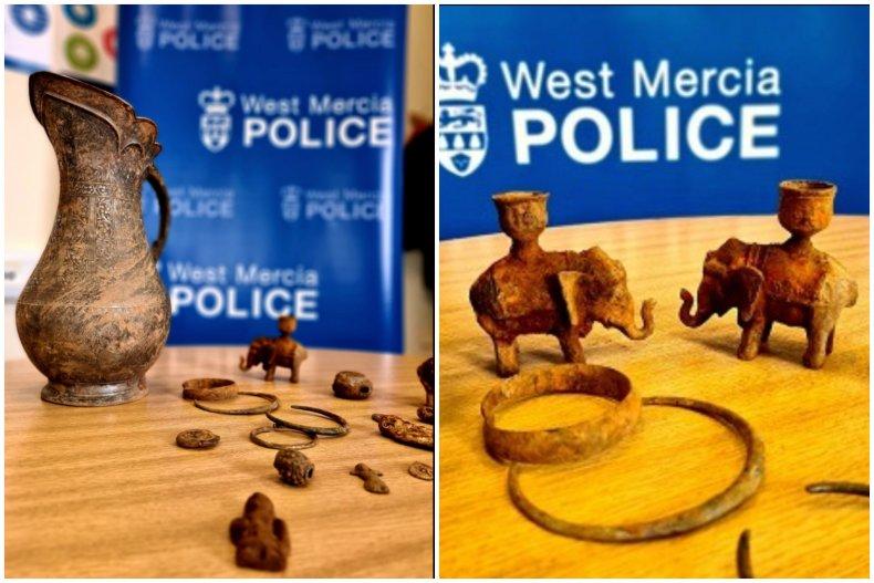 Stolen Artifacts Found in England