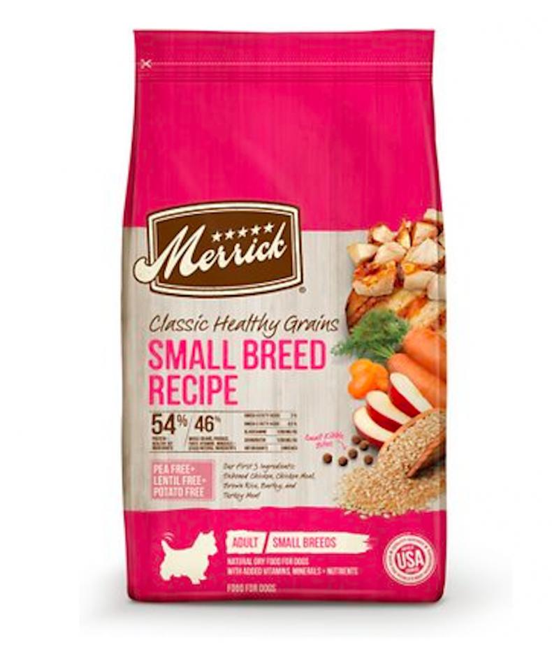 best dog foods small dog breeds merrick