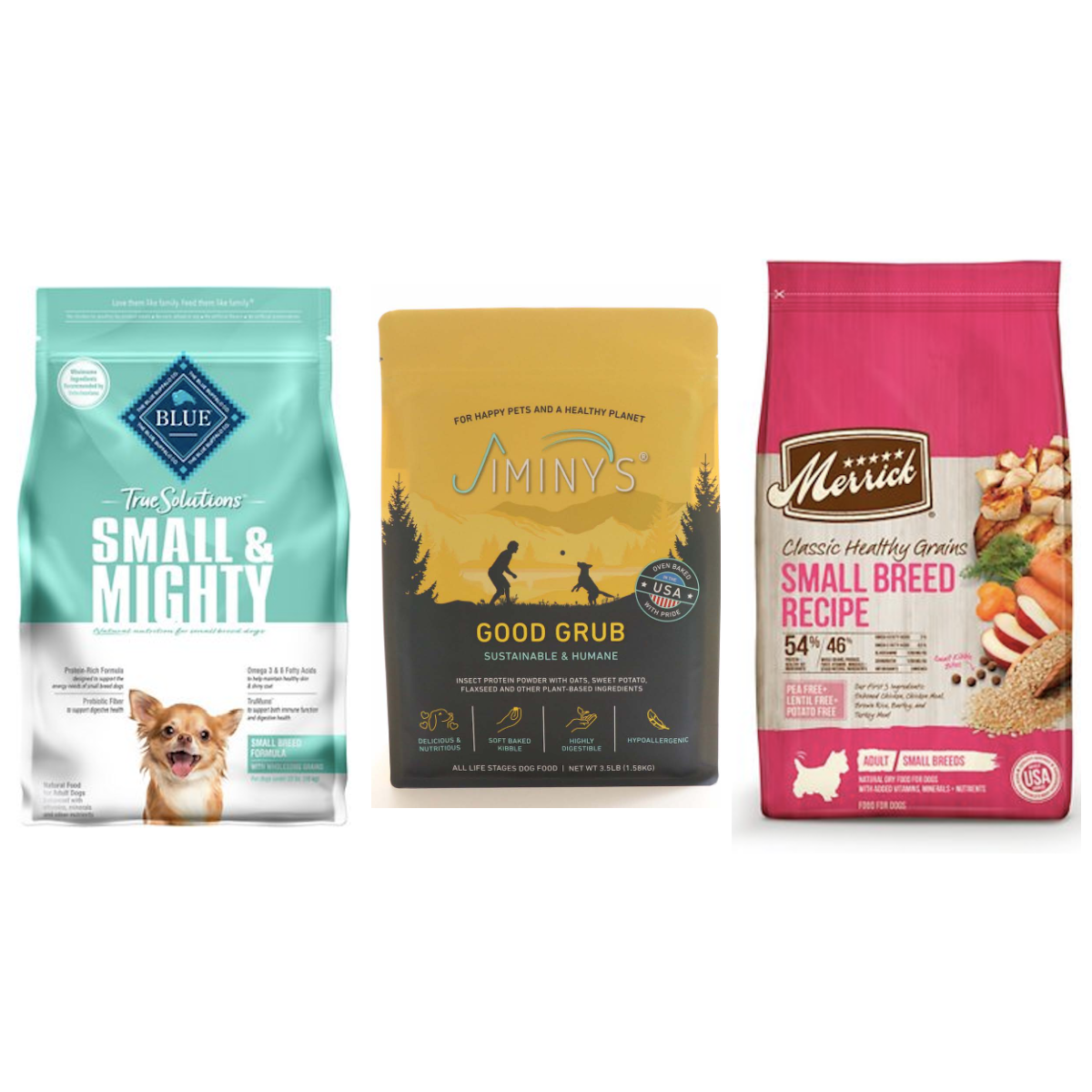 best dog foods small dog breeds cover