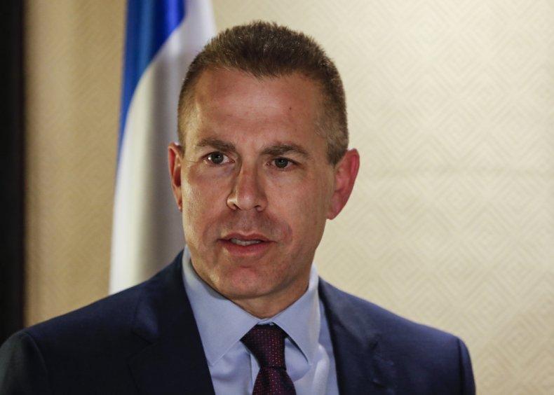 Gilad Erdan united nations israel