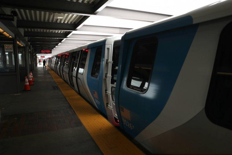 Asian Woman Attacked San Francisco BART train