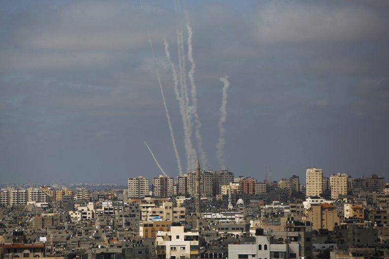 Rockets Headed Towards Israel From Gaza Strip