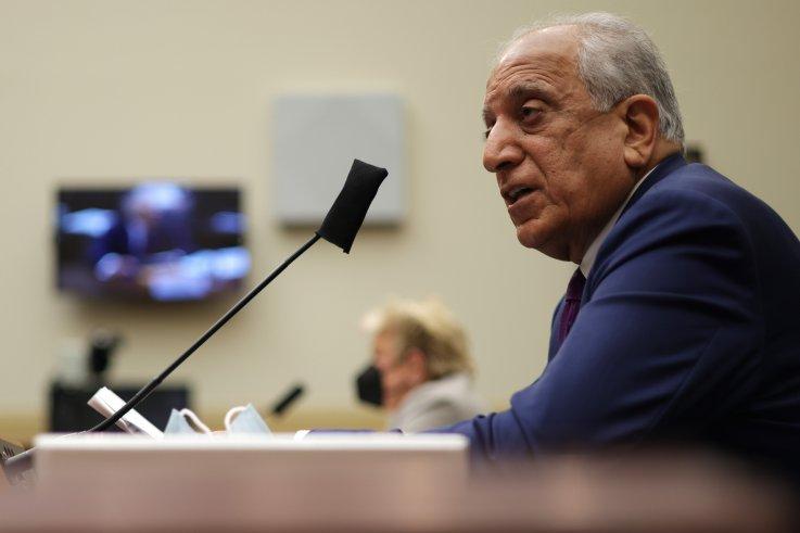 Zalmay Khalilzad hearing