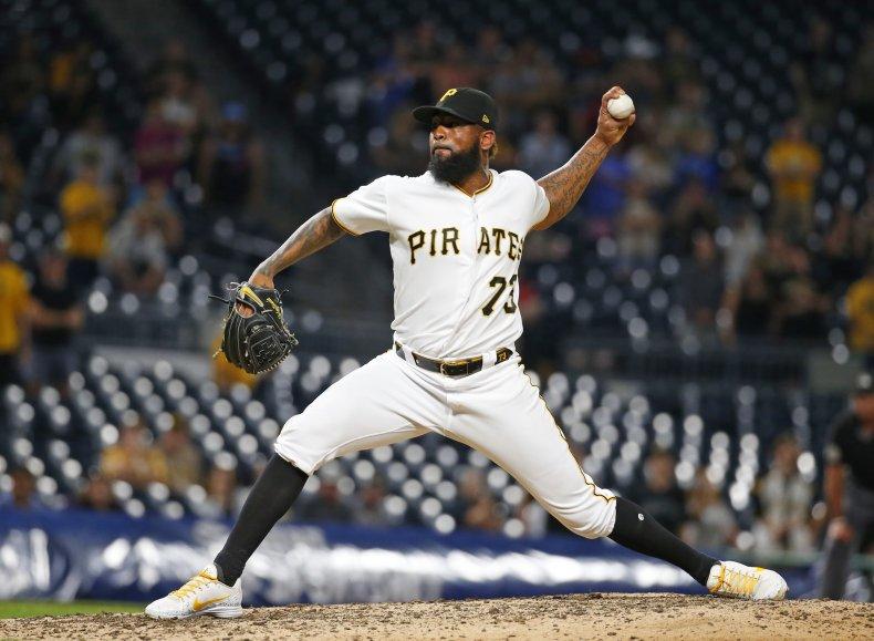 Felipe Vazquez Pittsburgh Pirates Pitcher Statutory