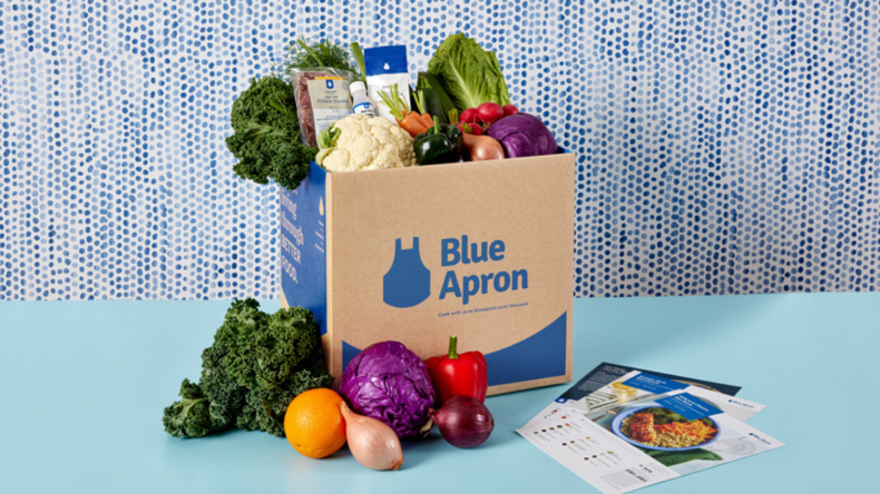 Blue Apron Evergreen Boxes