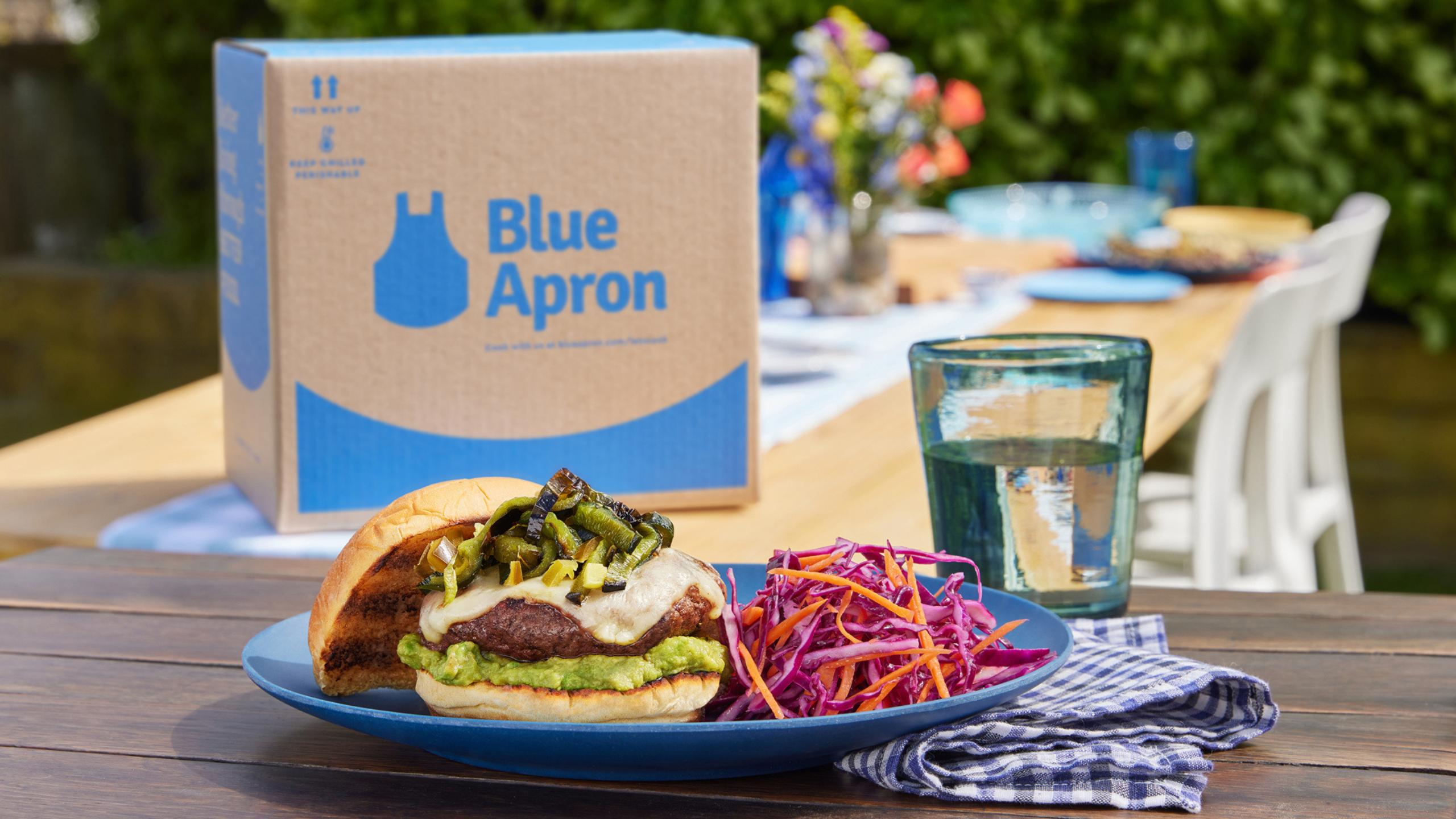 Blue Apron Grilling Subscription Box