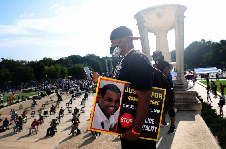 Ronald Greene's brother attends March on Washington