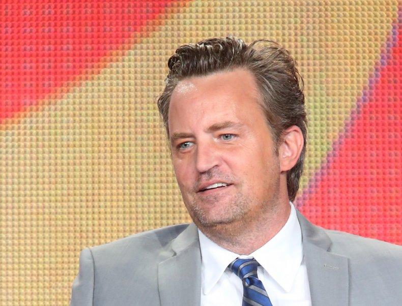 Matthew Perry played Chandler Bing on Friends