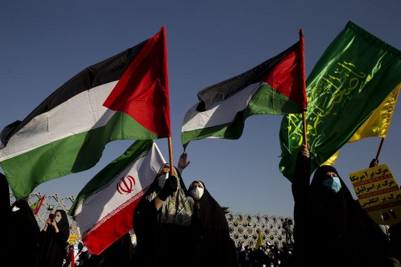 iran, protests, israel, palestinian, hamas