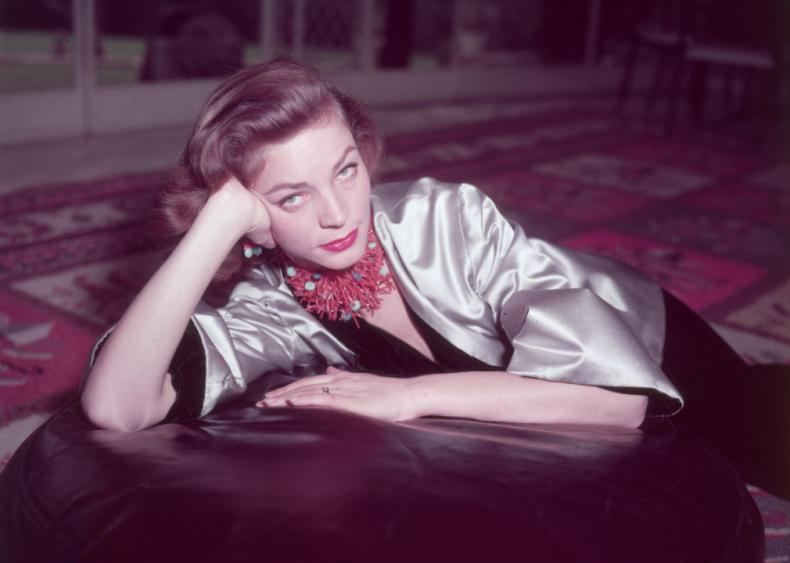 1924: Lauren Bacall