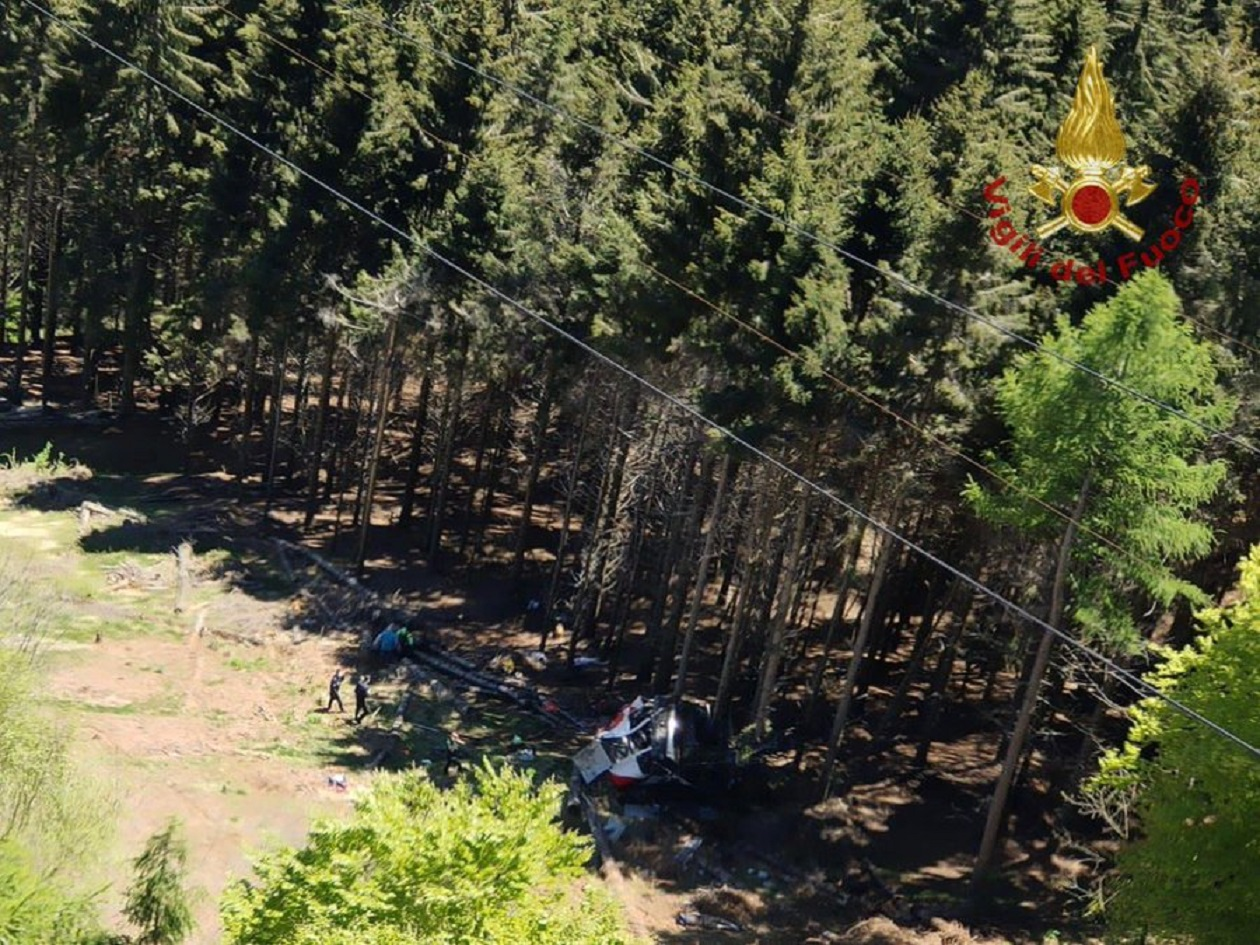 Cable Car Fall Near Lake Maggiore Leaves at Least 8 Dead