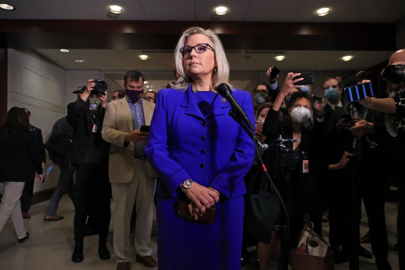Liz Cheney declines to denounce voter laws