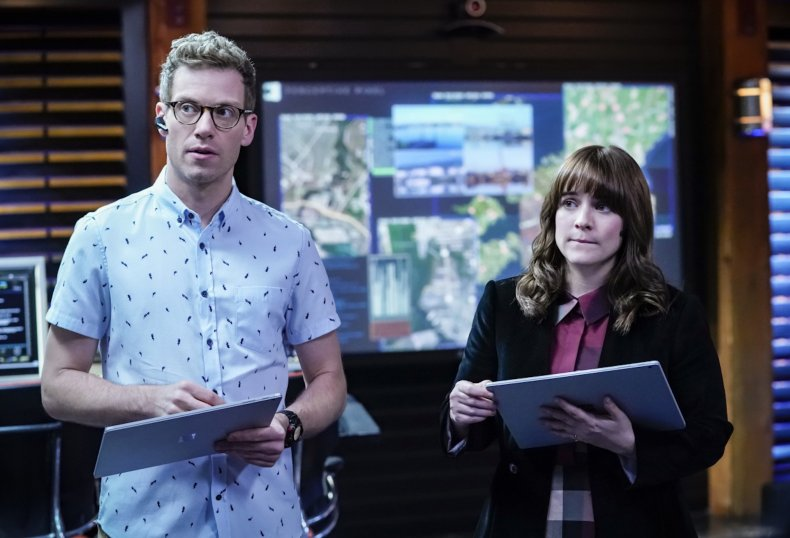 ncis los angeles nell and eric