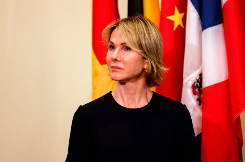 Former U.S. Ambassador to U.N. Kelly Craft