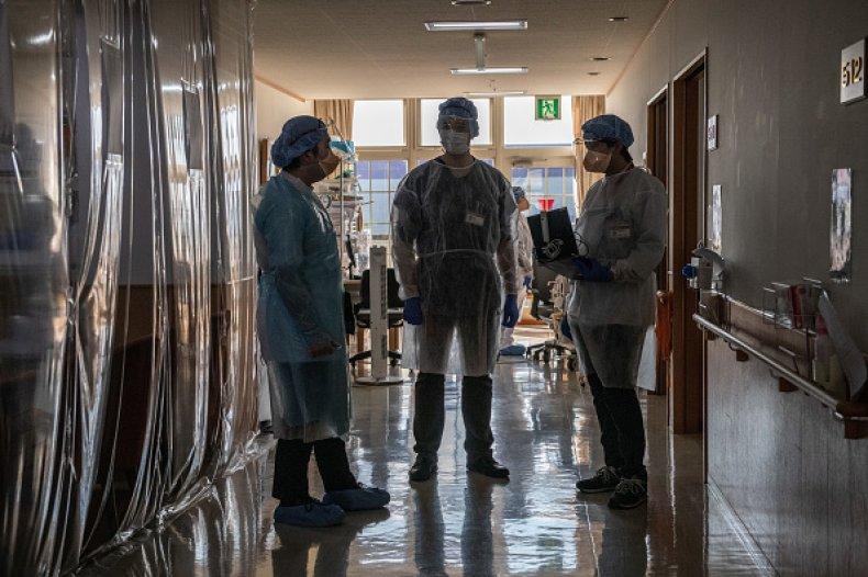 Japan Hospitals COVID Collapse Osaka Olympics
