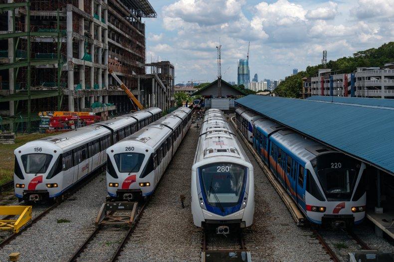 Kuala Lumpur trains