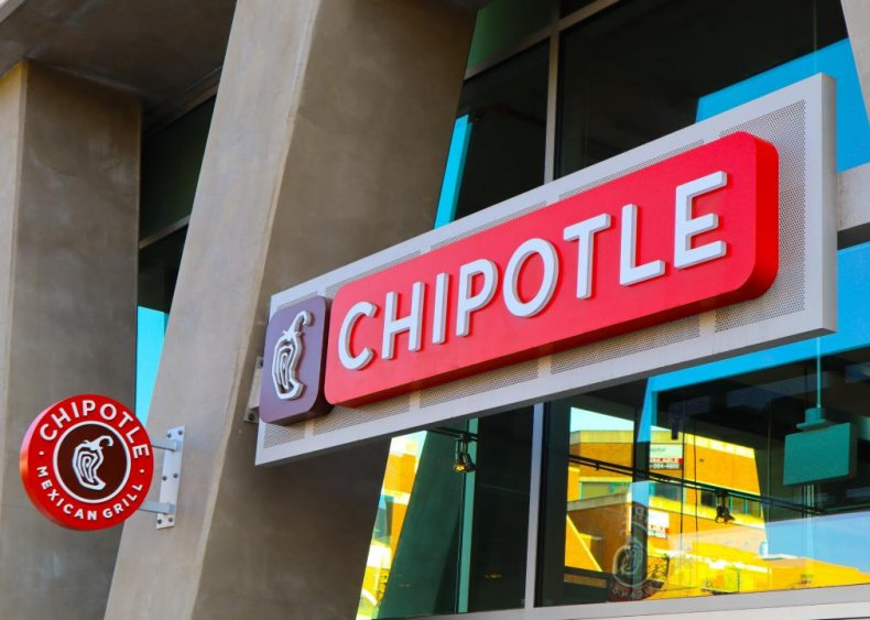 #41. Chipotle Mexican Grill
