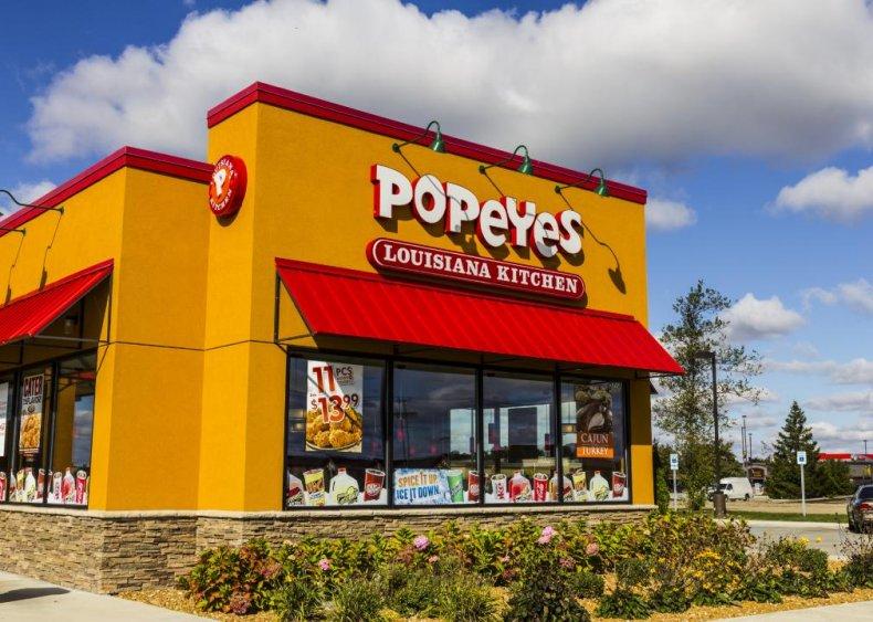 #24. Popeyes Chicken & Biscuits