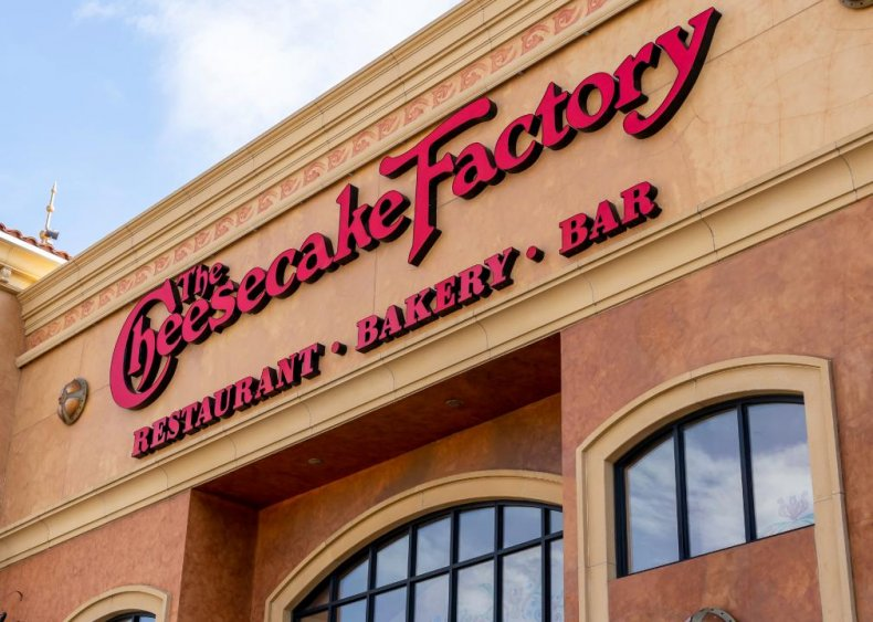 #9. The Cheesecake Factory