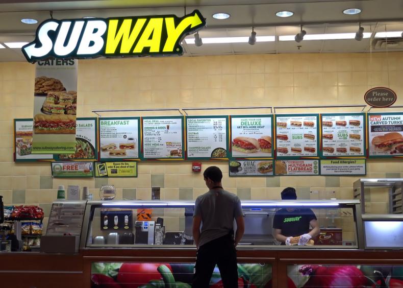 #4. Subway