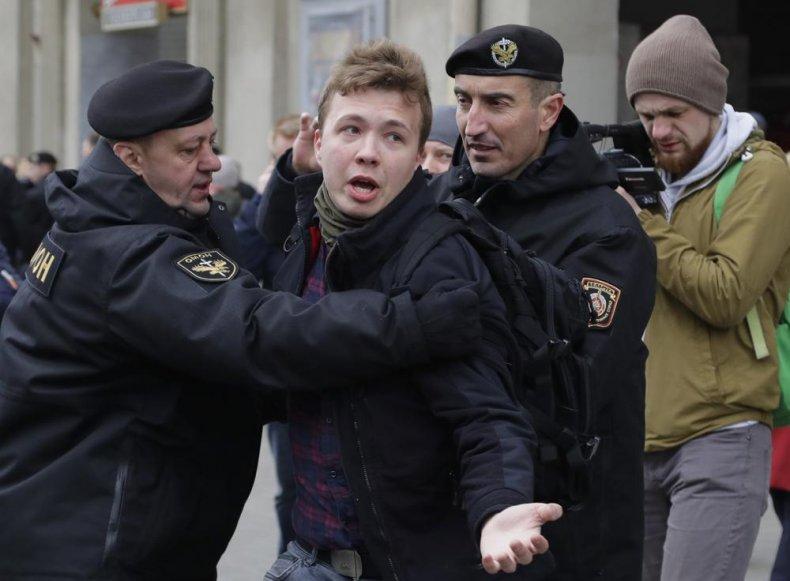 Belarus Authorities Detain Journalist