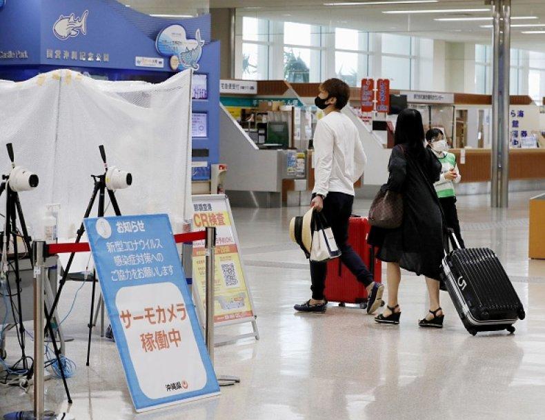 Japan Travel Advisory US Coronavirus Surge Olympics