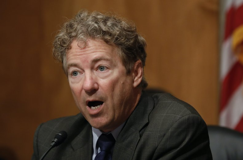 Rand Paul white powder mail threat Republican