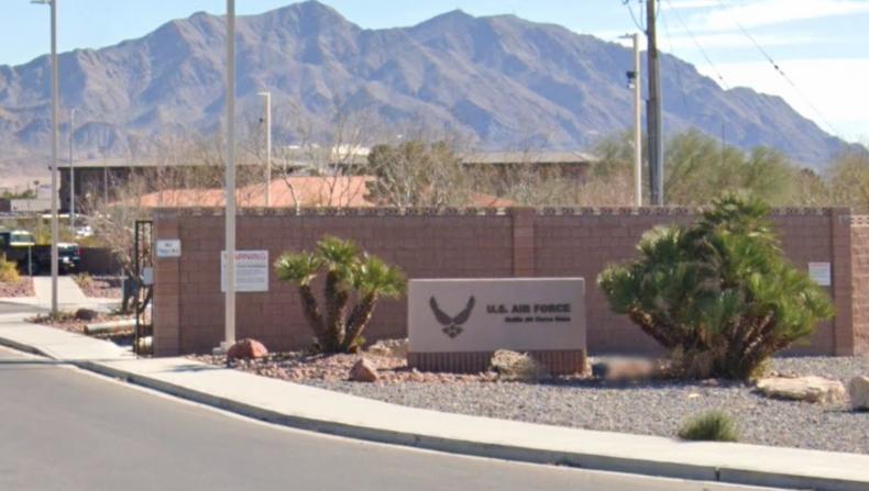 Nellis Air Force Base Nevada