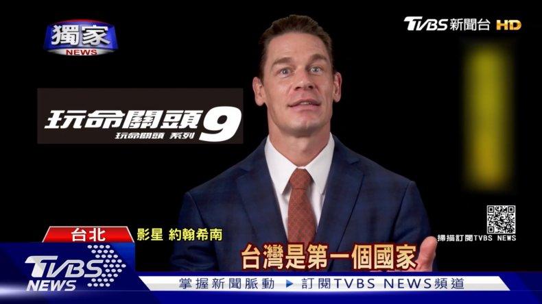 John Cena Promotes Fast 9 In Taiwan