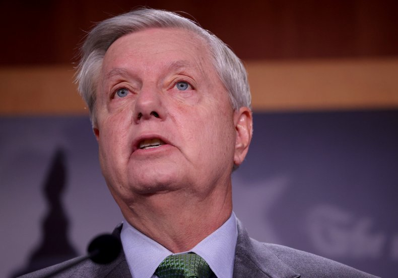 Lindsey Graham Speaks to the Press