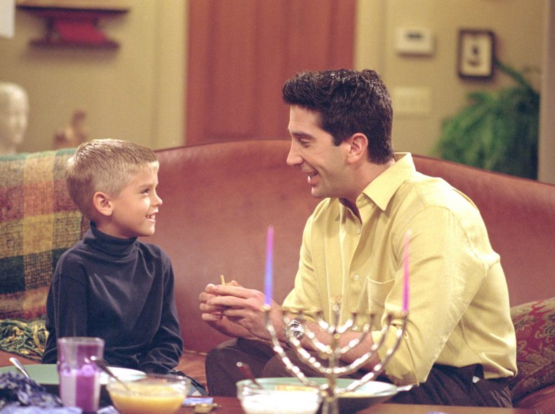 Cole Sprouse as Ben on Friends