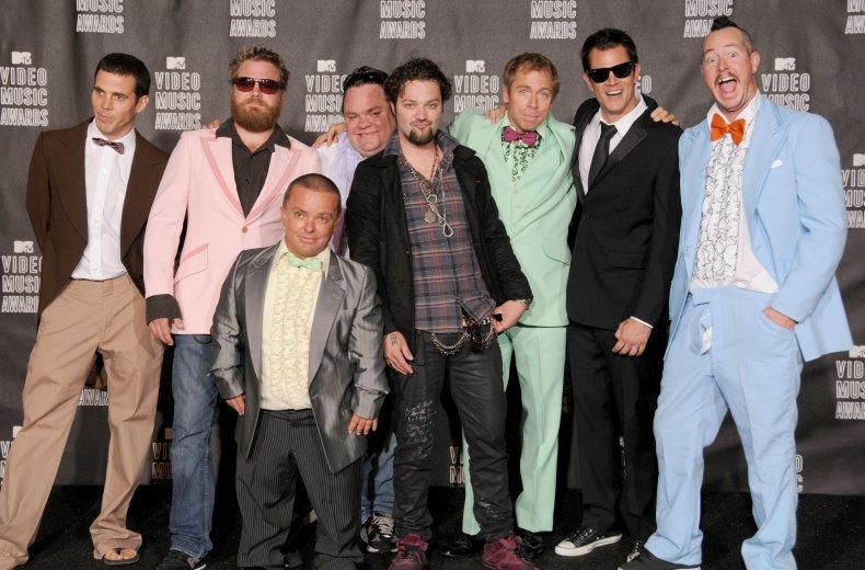 Original cast of Jackass