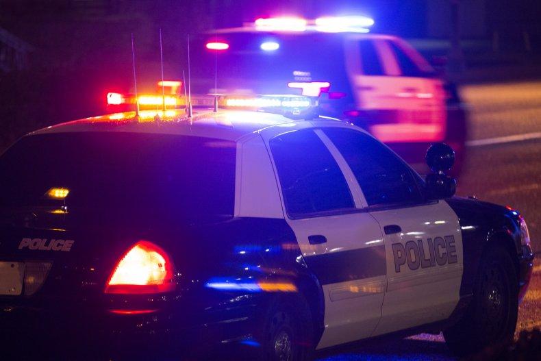 Police car shootings Los Angeles