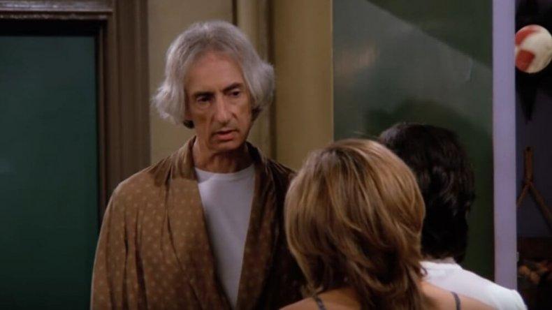 Larry Hankin as Mr. Heckles on Friends