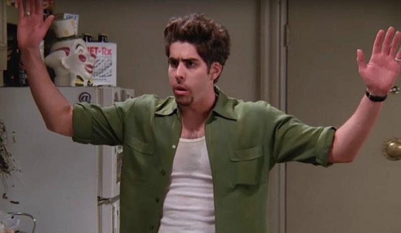 Adam Goldberg as Eddie Menuek on Friends