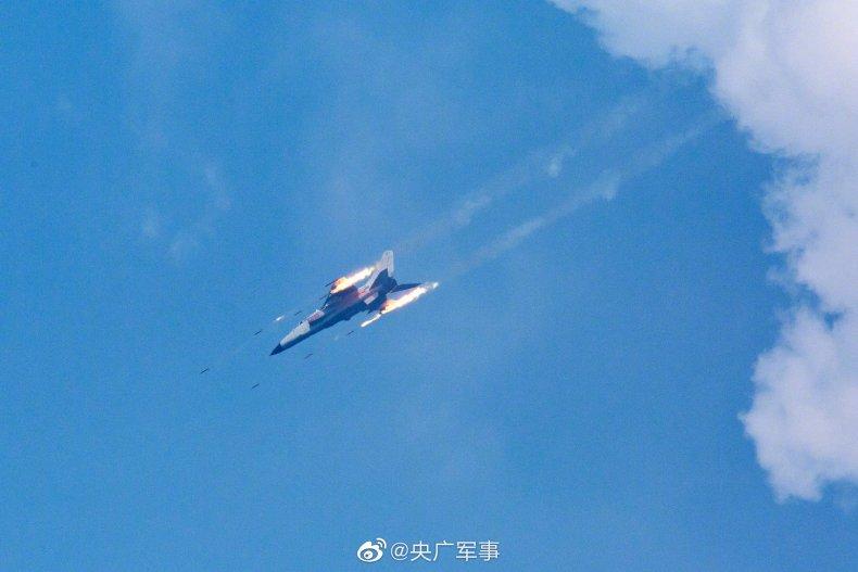 China Drops Bombs in South China Sea