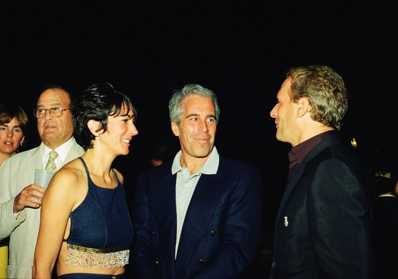 Image of Jeffrey Epstein and Ghislaine Maxwell