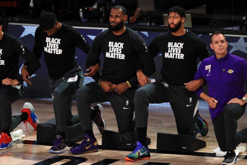 NBA Black Lives Matter protests