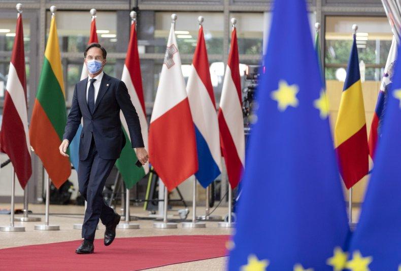 Dutch Prime Minister EU Summit