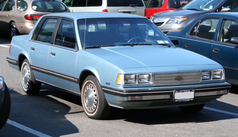 1986 Chevrolet Celebrity sedan with the 2.5FI