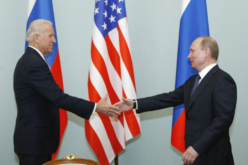 Former Meeting With Biden and Putin