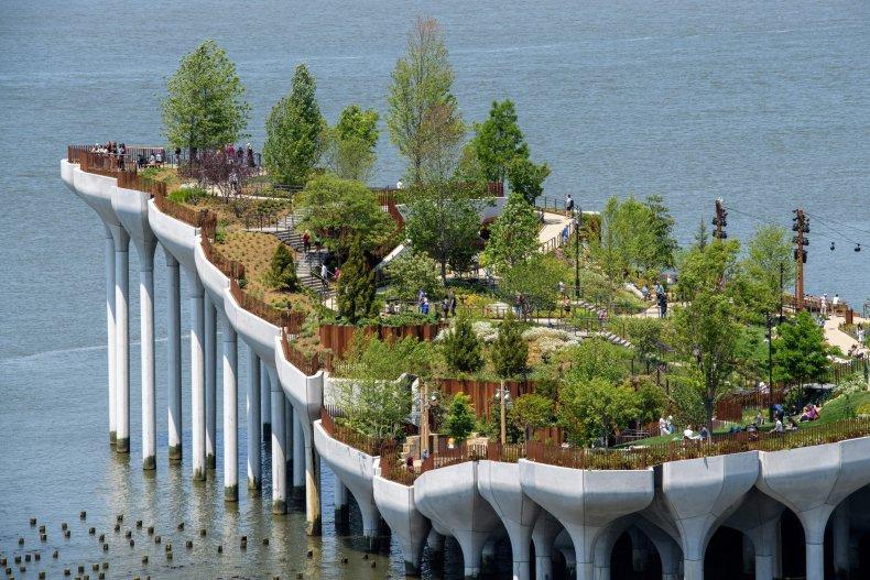 Little Island, a new, free public park