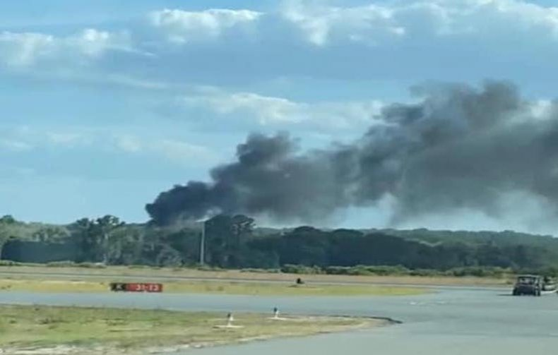 Helicopter crashed at Leesburg Airport in Florida