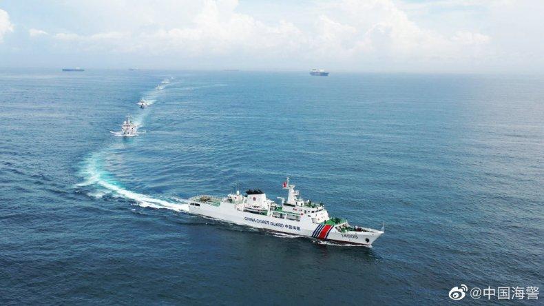 China Coast Guard Patrols Japan-controlled Islands