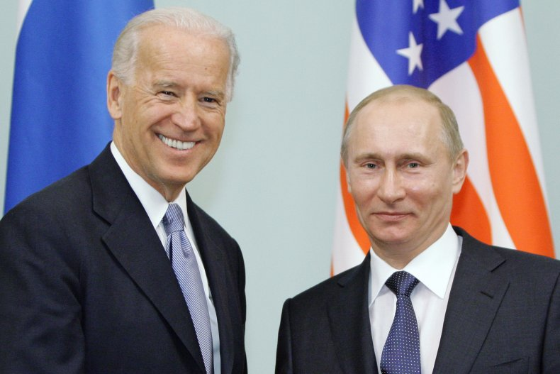 Biden and Putin in Moscow